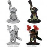 Dwarf Male Cleric - D&D Nolzur's Marvelous Miniatures - W2