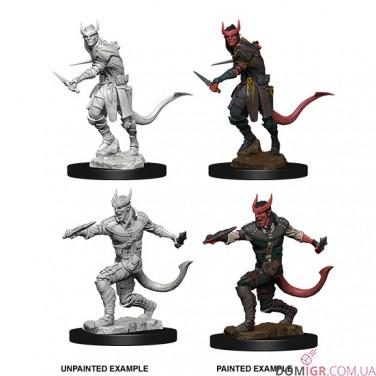 Male Tiefling Rogue- D&D Nolzur's Marvelous Miniatures - W5