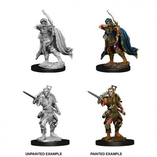 Male Elf Rogue - D&D Nolzur's Marvelous Miniatures - W7