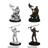 Female Half-Orc Fighter - D&D Nolzur's Marvelous Miniatures - W7