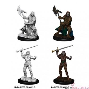 Female Half-Orc Fighter - D&D Nolzur's Marvelous Miniatures - W7