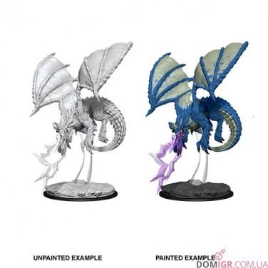 Young Blue Dragon - D&D Nolzur's Marvelous Miniatures - W8