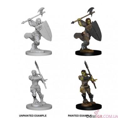 Half-Orc Female Barbarian - Pathfinder Deep Cuts - W1