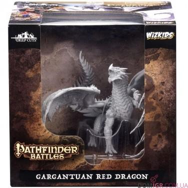Gargantuan Red Dragon - Pathfinder Deep Cuts - W6