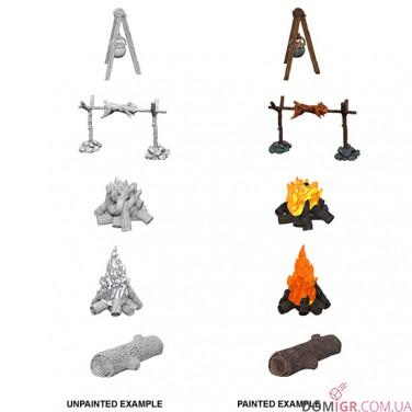 Camp Fire & Sitting Log - WizKids Deep Cuts - W10