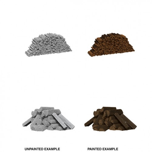 Piles of Wood - WizKids Deep Cuts - W10