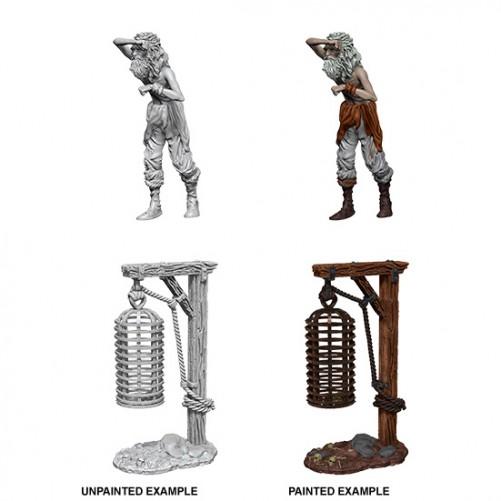 Hanging Cage - WizKids Deep Cuts - W10