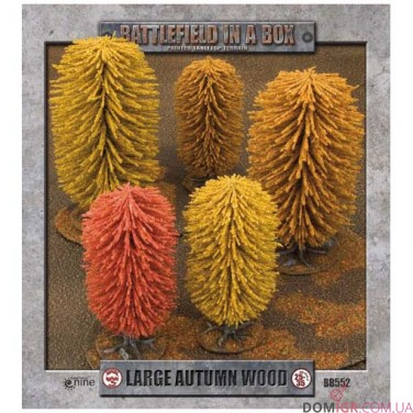 Large Autumn Wood - Battlefield in a Box