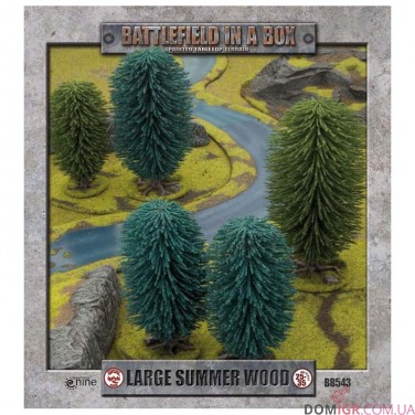 Large Summer Wood - Battlefield in a Box