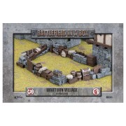 Wartorn Village - Baricades - Battlefield in a Box