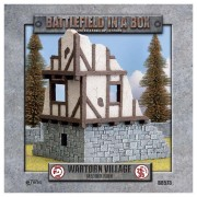 Wartorn Village - Medium Ruin - Battlefield in a Box