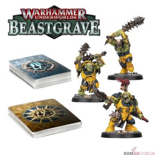 Warhammer Underworlds: Beastgrave - Мордовороты Моргока (Рус)