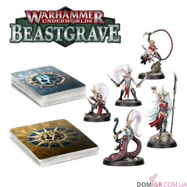 Warhammer Underworlds: Beastgrave - Клан Клинков Моргвейт (Рус)