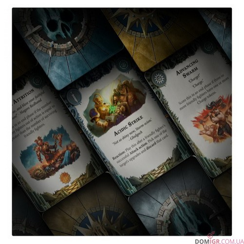 Warhammer Underworlds: Direchasm - Silent Menace: Universal Deck (Англ)