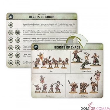 WarCry: Beasts of Chaos Card Pack
