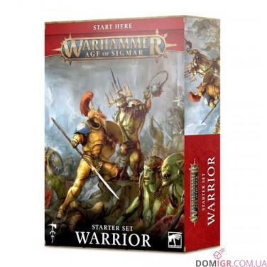 Warhammer Age of Sigmar: Warrior Starter Set (Англ)