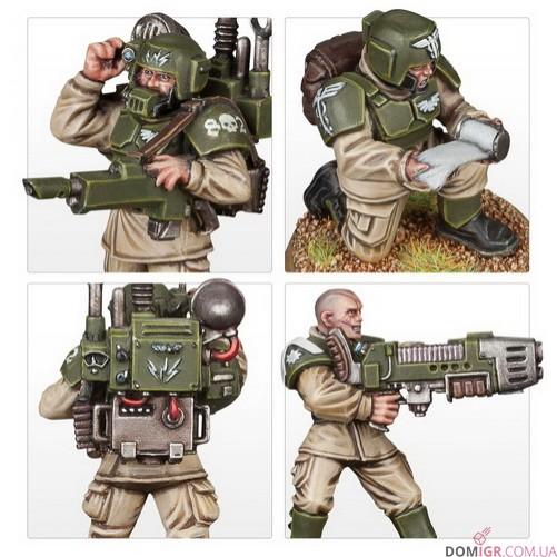 Cadian Command Squad