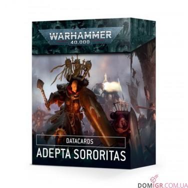 Datacards: Adepta Sororitas (Англ)