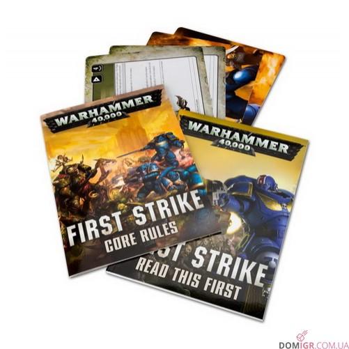 First Strike: A Warhammer 40,000 Starter Set (Англ)