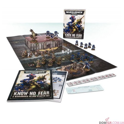 Know No Fear: A Warhammer 40,000 Starter Set (Англ)