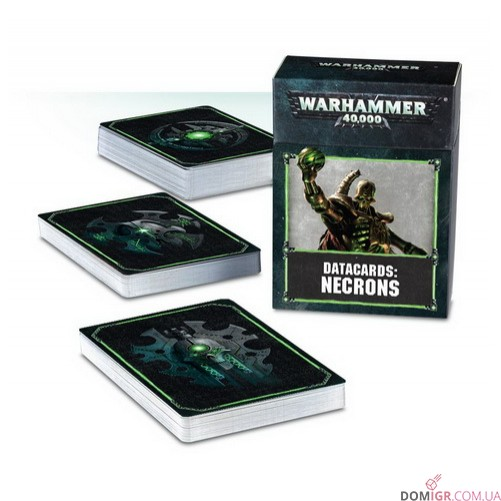 Datacards: Necrons (Eng) 8th edition