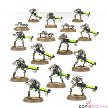 Necron Warriors with Canoptek Scarabs (8th ed)