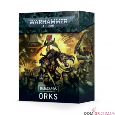 Datacards: Orks (Англ)
