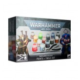 WH40K: Paints and Tools Set