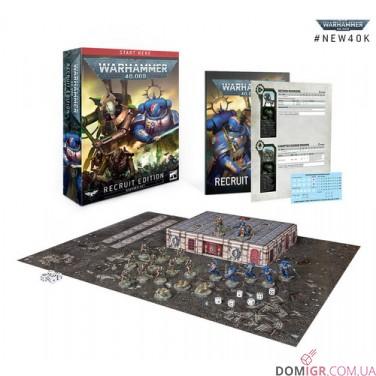 Warhammer 40,000: Recruit Edition Starter Set (Англ)
