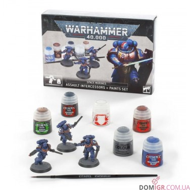 Assault Intercessors and Paints Set