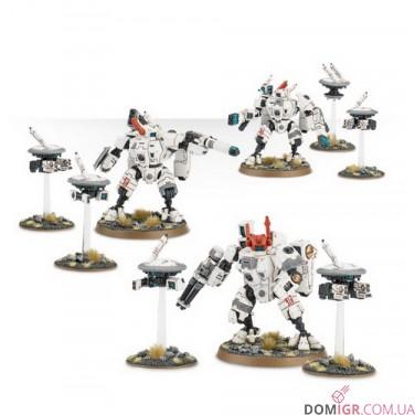 XV8 Crisis Battlesuit Team