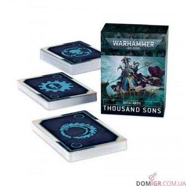 Datacards: Thousand Sons (Англ)