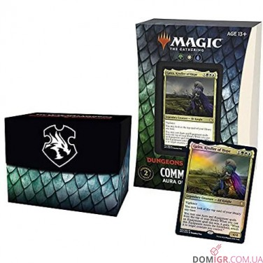 D&D: Adventures in the Forgotten Realms - Commander Deck - Aura of Courage - Magic The Gathering (Англ)
