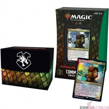 D&D: Adventures in the Forgotten Realms - Commander Deck - Draconic Rage - Magic The Gathering (Англ)