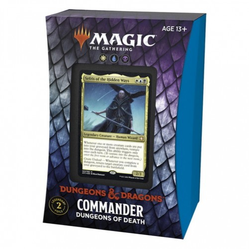 D&D: Adventures in the Forgotten Realms - Commander Deck - Dungeons of Death - Magic The Gathering (Англ)