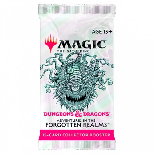 D&D: Adventures in the Forgotten Realms - Collector Booster - Magic The Gathering (Англ)