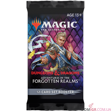 D&D: Adventures in the Forgotten Realms - Set Booster - Magic The Gathering (Англ)
