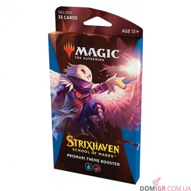 Strixhaven: School of Mages - Prismari Theme Booster - Magic The Gathering (Англ)