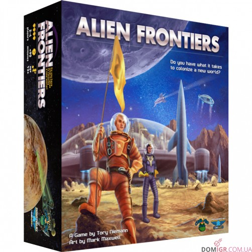 Alien Frontiers (4th edition)