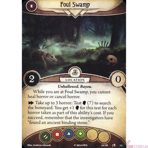 Arkham Horror: The Card Game - Curse of the Rougarou - Scenario Pack
