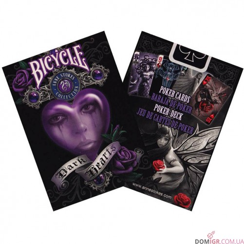 Карты Bicycle Anna Stoke Dark Hearts