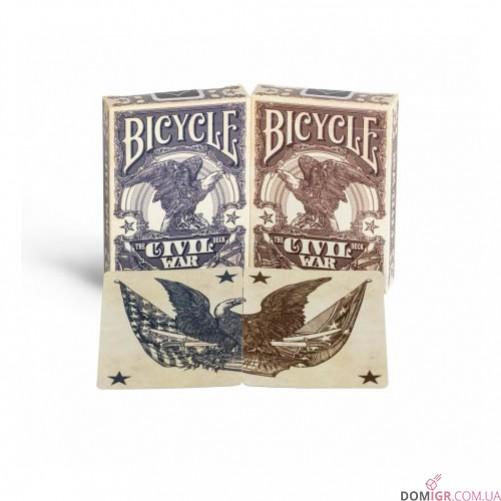 Карты Bicycle Civil War