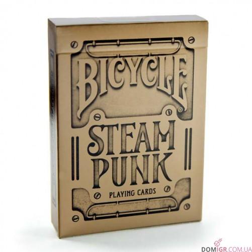 Карты Bicycle Steampunk Gold