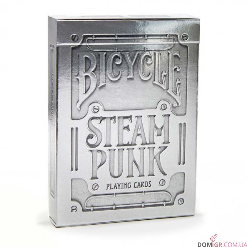 Карты Bicycle Steampunk Silver