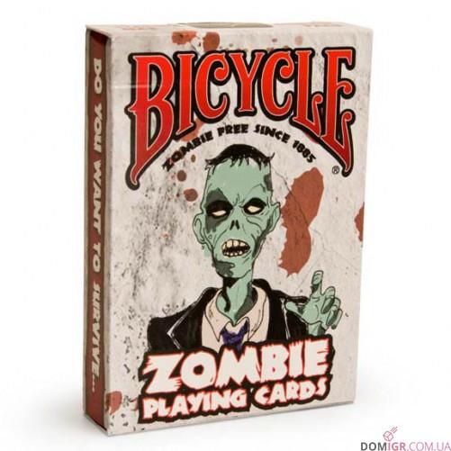 Карты Bicycle Zombie Deck