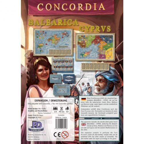 Concordia: Balearica & Cyprus