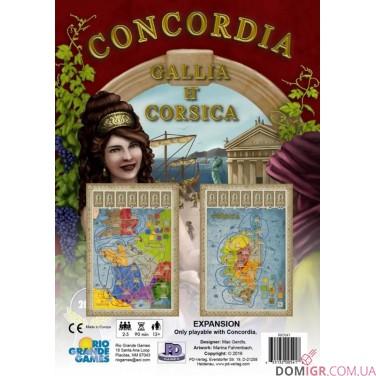 Concordia: Gallia & Corsica