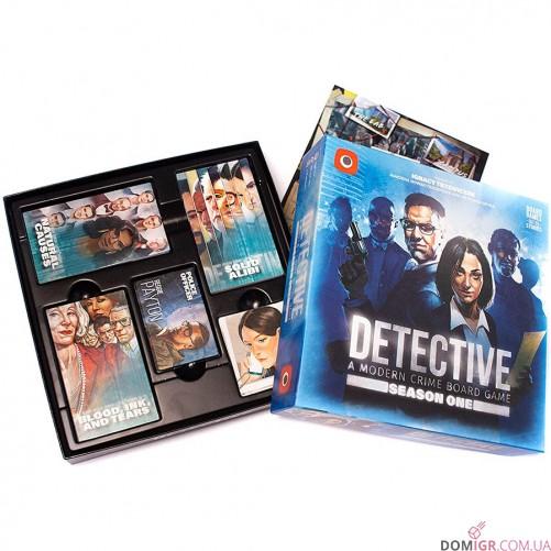 Detective: A Modern Crime Board Game – Season One