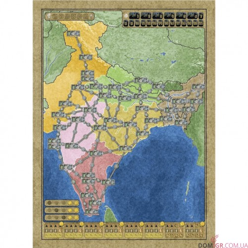 Australia & Indian Subcontinent - Power Grid Recharged 2nd Edition