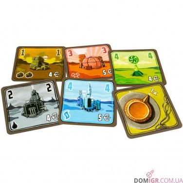 Энергосеть: Карточная игра